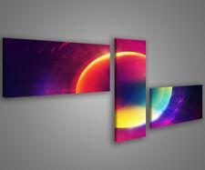 Quadri moderni 180 x 70 stampe su tela canvas intelaiate design moderno MIX-S_4