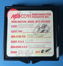 MA46472-277 MA-COM SEMICONDUCTOR VARACTOR DIODE SINGLE CHIP DIE 24/units