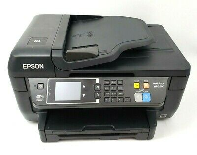 Epson WorkForce WF-2660 Wireless All-in-One Color Printer ...