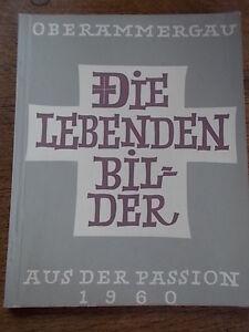 1st-Ed-1960-German-Religious-Biblical-Bible-Christianity-DIE-LEBENDEN-BILDER