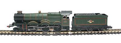 Graham Farish 372-026 Castle Class 4-6-0 4080 'powderham Castle' Br Green Nmib