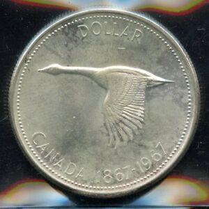 1967-Canada-Silver-Dollar-ICCS-MS-65-Cert-XVZ-976