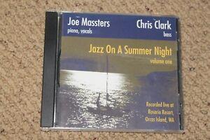 299-cent-Jazz-CD-Joe-Massters-amp-Chris-Clark-Jazz-on-a-Summer-NIght-volume-on