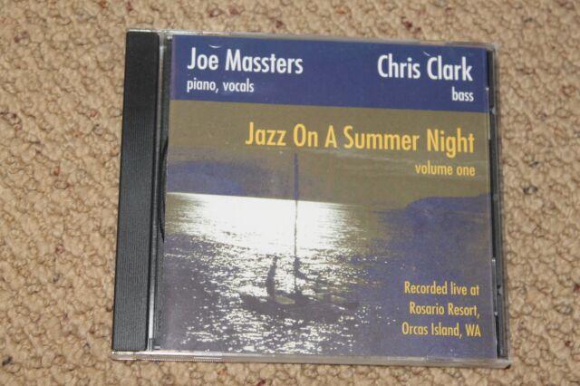 99 Cent Jazz CD--Joe Massters and Chris Clark, Jazz on a Summer NIght, volume on