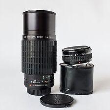 Pentax Takumar-A 2x Teleconverter w/ Case + Pentax Takumar A 70-200mm f4 Macro