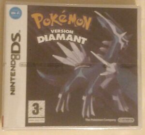 Pokemon version Diamant-français-neuf-sous blister-Nintendo DS