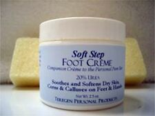 Teregen SOFT STEP Foot Hands Creme 20% Urea 2.5 Oz Dry Skin Corns Calluses Cream