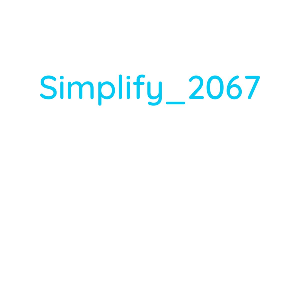 simplify2067