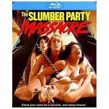 Slumber Party Massacre (Blu-ray Disc, 2014) - 80s horror movie, like new!