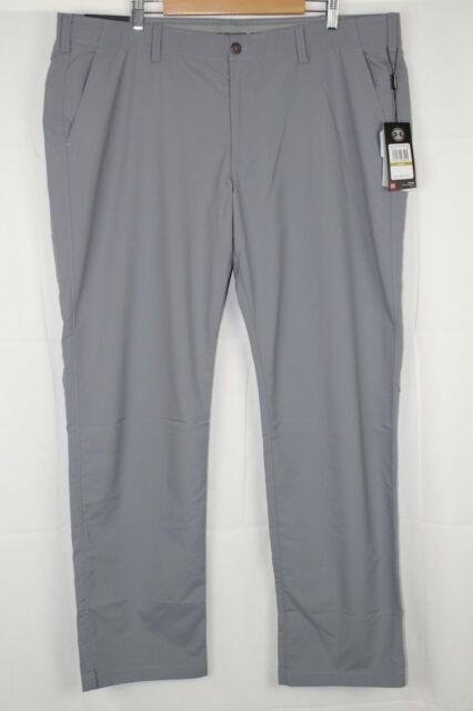 New Under Armour Men's 1290159 035 Match Play Golf Pants 44 X 34 Gray