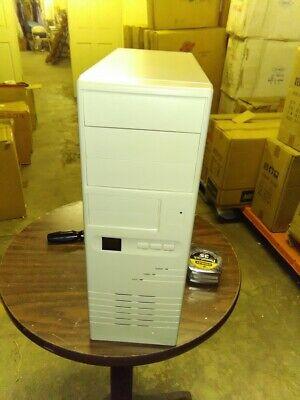 New Black AT Full Tower Computer PC Case Enclosure 386 486 Pentium Vintage Build