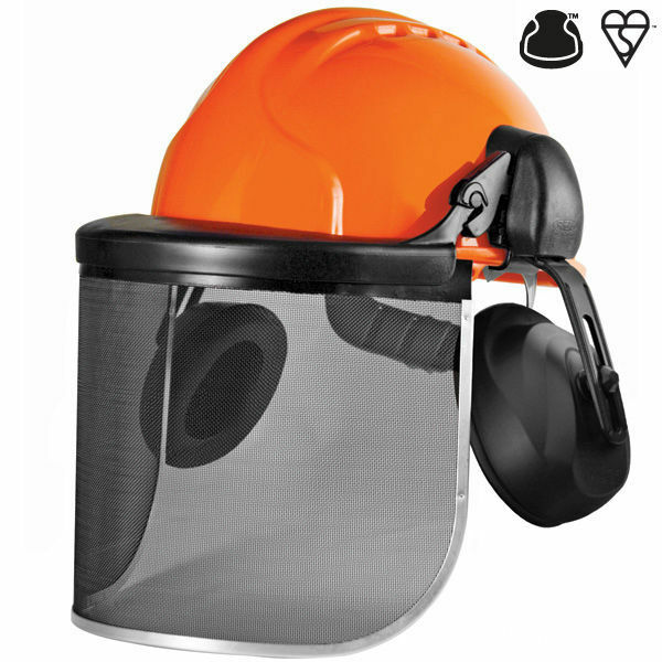 JSP Invincible Wire Gauze VISOR 20cm Forestry Face Shield Eye Protection