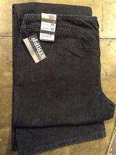Diesel ' stripp' black womens boot cut jeans 30' 32L