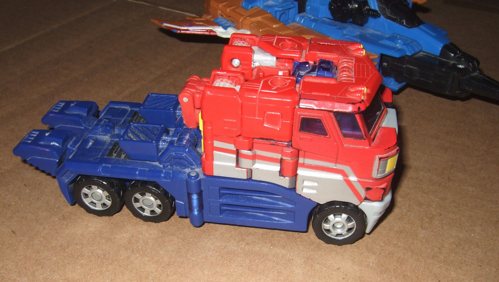 Transformers Robots in Disguise OPTIMUS PRIME Classic Voyager RID 2006 Classics