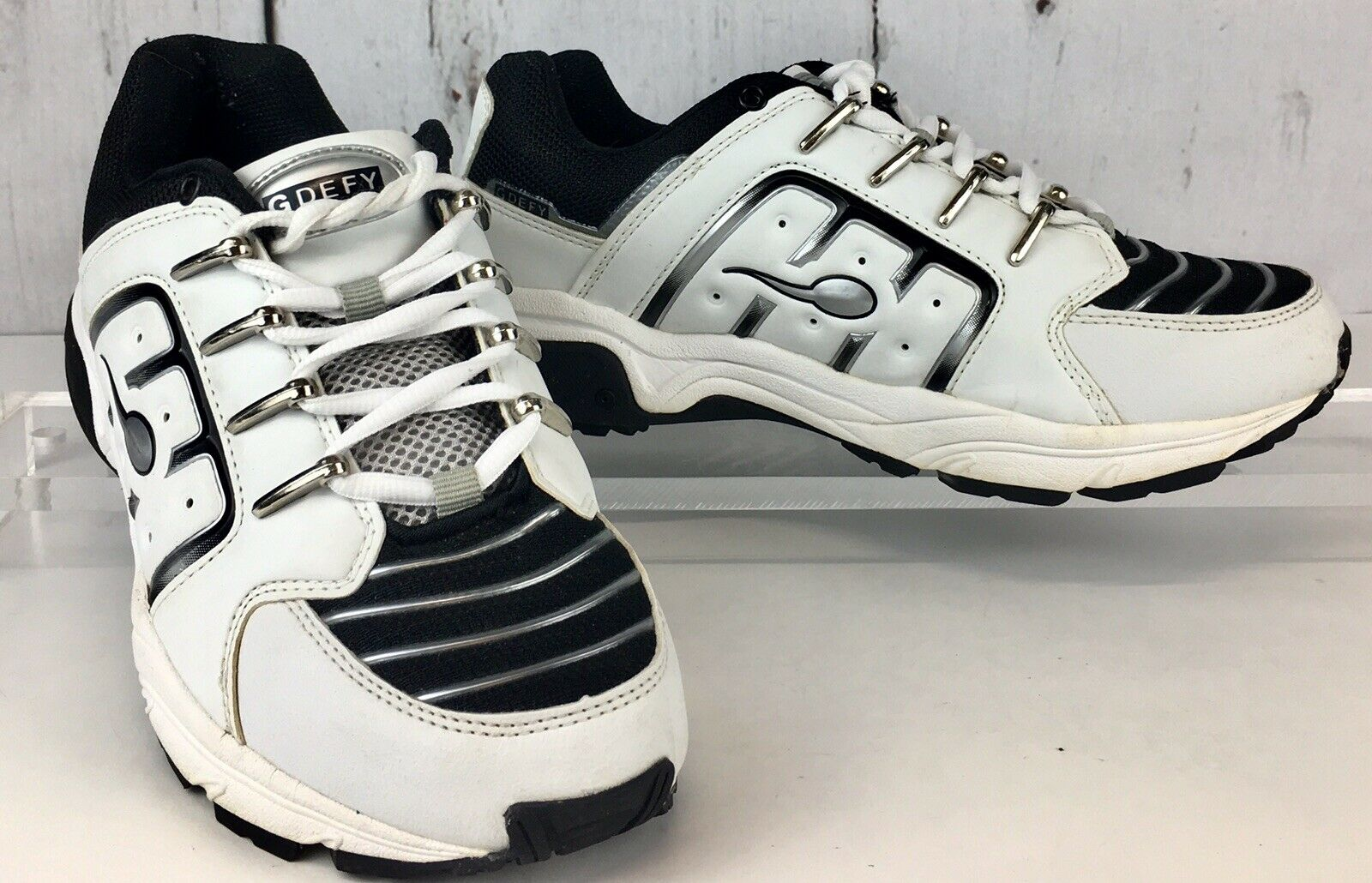 Men's Gravity Defyer Pain Relief Athletic shoes, White Sz 6 1 2M, Barely Pre-Own