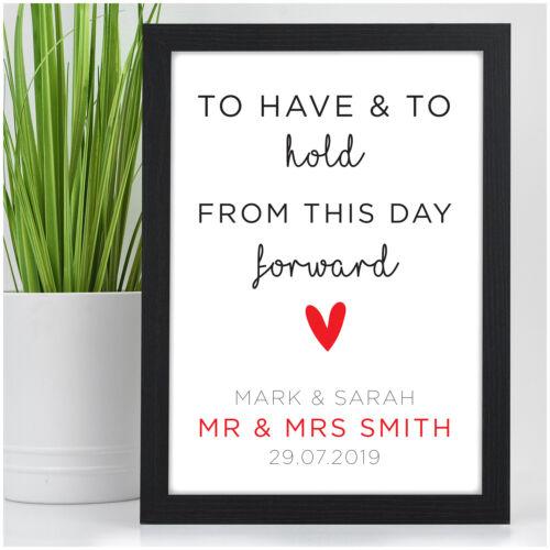 Personnalisé Mariage Souvenir Cadeaux Pour MARIES COUPLE Mr /& Mrs son