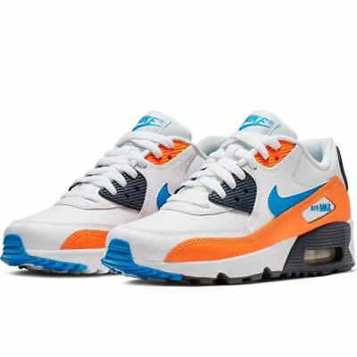 Details about Nike Air Max 90 GS WOMENS TRAINER SIZE 38,5 Black Running Fitness Casual Shoes show original title