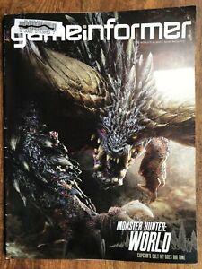 Details about Game Informer Magazine #296 Monster Hunter: World