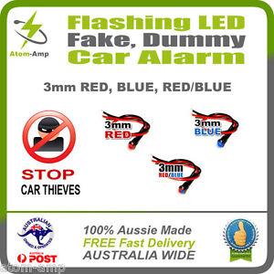 Flashing-LED-Dummy-Fake-Car-Alarm-Light-Stop-Thieves-3mm