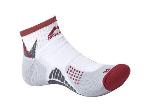 Red-White More Mile Running Socks San Diego sneaker-socke