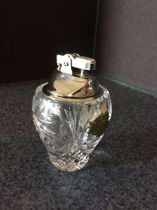 bohemian-lead-crystal-Table-Lighter-Czechoslovakia