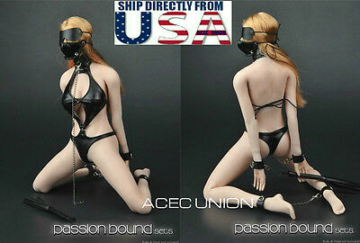 ZY5005 ZYTOYS 1//6 SM charm bound leather underwear for PHICEN Boby in stock