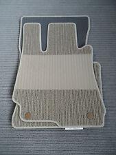 $$$ Lengenfelder Rips Fußmatten für Mercedes Benz W212 S212 E-Klasse + BEIGE NEU