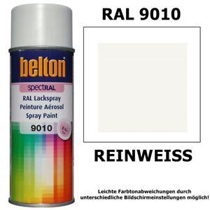 Ral Reinweiß lackspray ral 9010 reinweiss glänzend belton sprühlack weiß lack