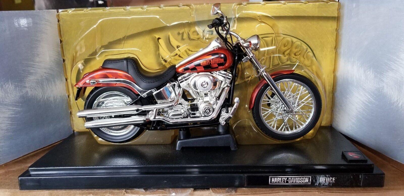 1 10 Hot Wheels Harley Davidson Softail Deuce