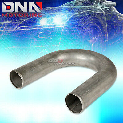 "3/"" 76mm 304 Stainless Steel Universal 180° Mandrel Bent /""U/"" Pipe Custom Piping"