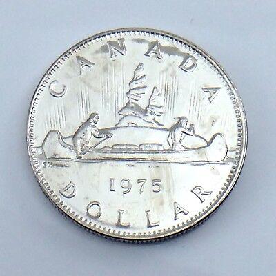 1975 Canada One Dollar Coin NICE GRADE UNC.