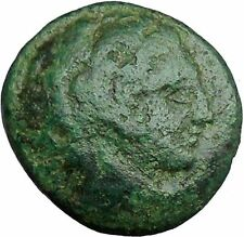 Alexander III the Great 336BC Ancient Greek Coin Hercules Bow Club  i33720