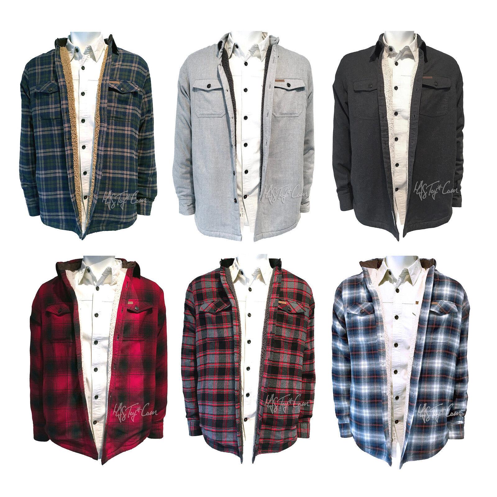 NWT FIELD & STREAM Sherpa Lined Flannel hemd jacke Long Sleeve S-2XL MSRP  100