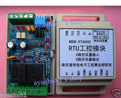 RTU Control RS485 Serial Remote Communication Switch Digital input/output Module