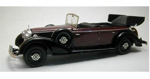 Mercedes Benz 770 open cabriolet 1938 amaranto 4021 1 43 Rio Made in