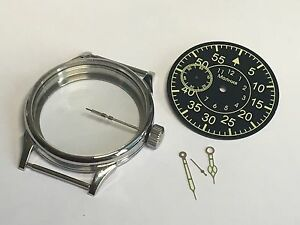 new set case , dial , hands , crown of 3602 for the mechanism USSR
