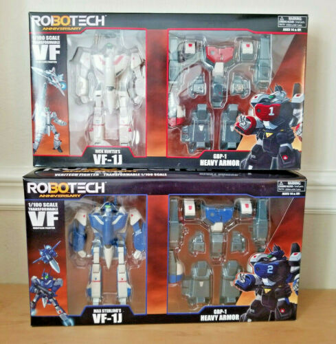 Robotech 30th Anniversary Rick Hunter /& Max Sterling Heavy Armored Veritech
