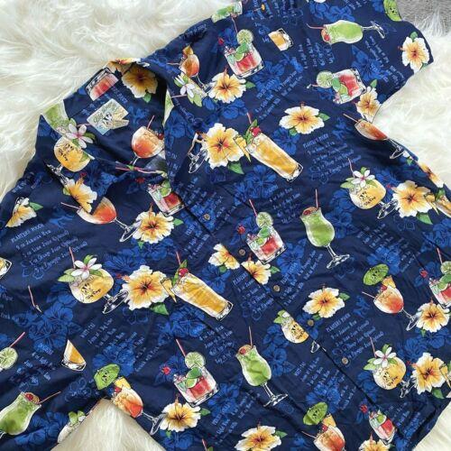 Big Dogs Hawaiian Shirt 3XL Button Up Rayon Shirt… - image 1
