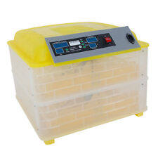 Hot 96 Egg Digital Incubator Poultry Chicken Egg Turning Fully Automatic Hatcher