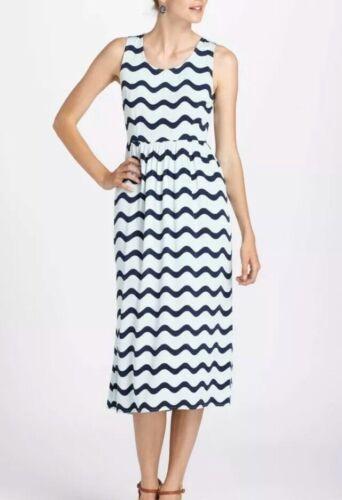 Dusen Dusen Blue Waves Dress Size 6