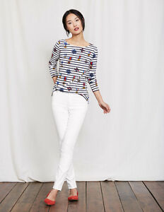 88b37f73953be6 Boden New British MAYFAIR MODERN SKINNY JEANS White Size US 6R Style ...