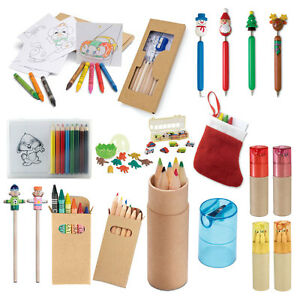 Image Is Loading COLOURING PENCIL CRAYONS KIDS PARTY BAG WEDDING FAVOUR