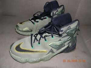 new product 2d631 bde24 Details about NIKE LEBRON JAMES XIII 13 AS (GS) 836386-309 Alligator YOUTH  Boy's Shoes SIZE 7Y
