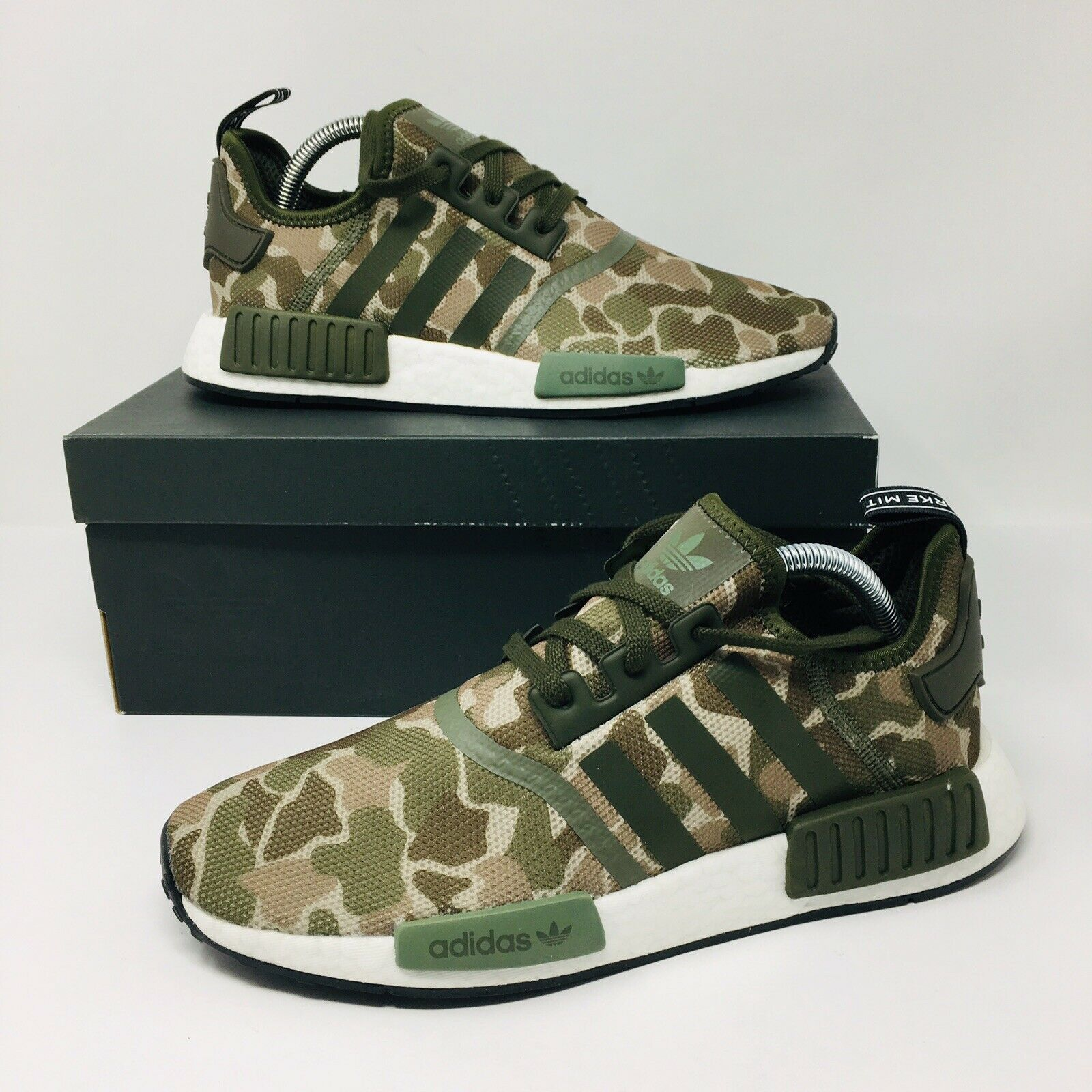 NEW Adidas Original NMD R1 Camoflage (Men Size 10.5) Running shoes Ultra Boost
