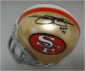 Jimmy-Johnson-Hand-Signed-Auto-Mini-Helmet-San-Francisco-49ers-JSA-W596508