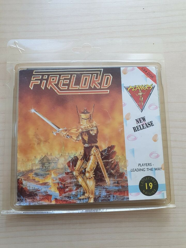 """""""Shark"""" & """"Firelord"""" [Disk - SEALED], Commodore 64"""