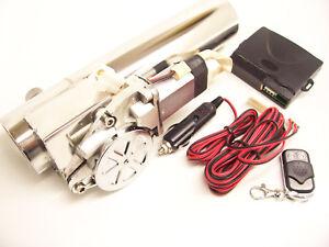 Rsr escape boca 57mm 2,25 válvulas sistema i válvulas de escape eléctrico vr6 ETI R