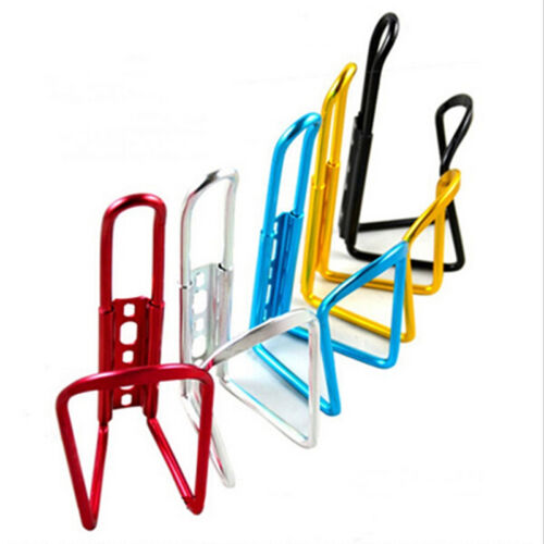 New Aluminum Alloy Bike Bicycle Cycling Drink Water Bottle Rack Holder Cage RS