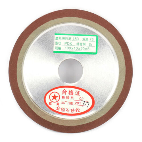 4 Inch Diameter Diamond Grinding Wheel For Metalworking Ceramics Tool 150# New