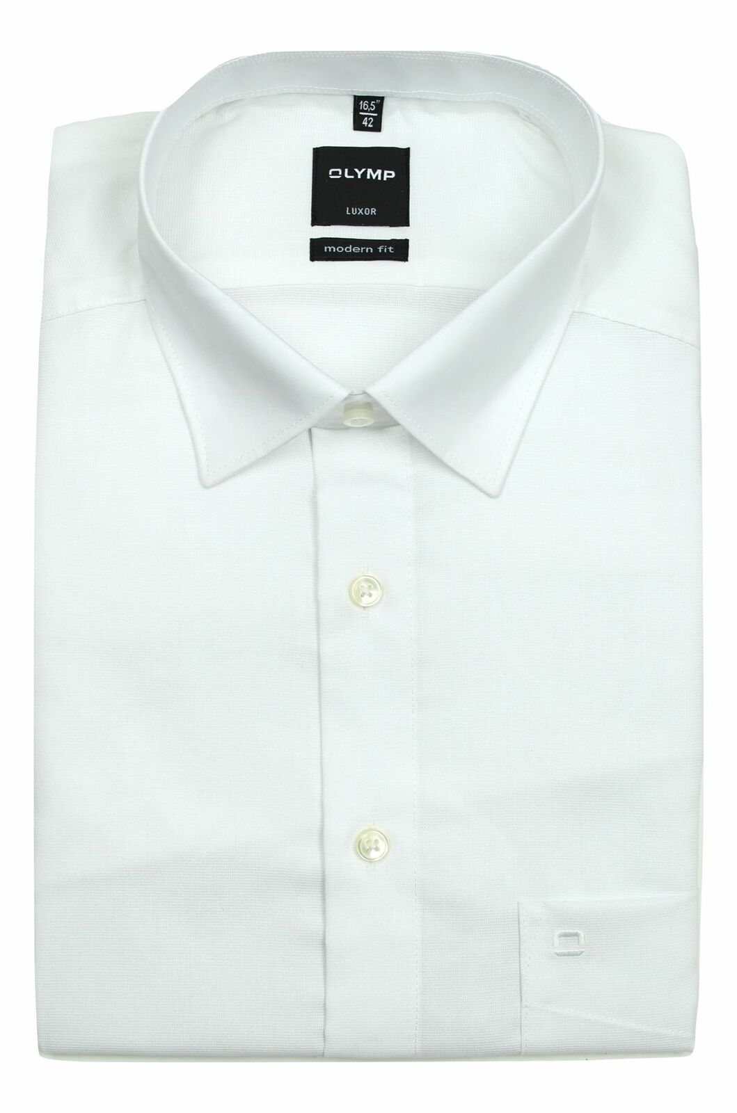 White Textured Tonal Contrast Collar